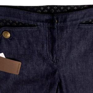 New Women's Louis Vuitton Monogram Pocket Jeans